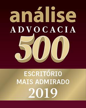 análise advocacia 500 - escritório mais admirado 2019