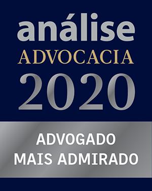 análise advocacia 500 - advogado mais admirada 2020